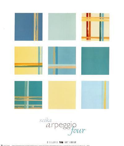 Arpeggio IV-Seika-Art Print