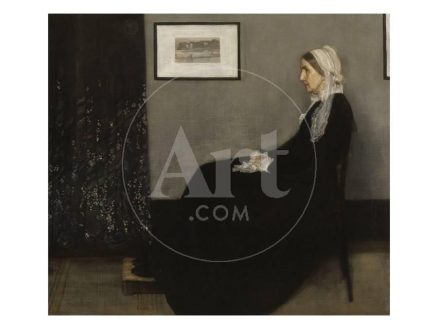 Arrangement en gris et noir n° 1 ou la mère de lartiste 1804 1881