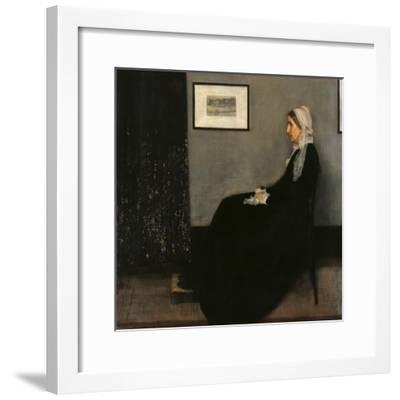Arrangement in Gray and Black No. 1 (Portrait of the Painters Mother)--Framed Giclee Print