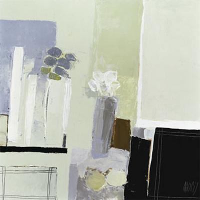 Arrangement of Two Bouquets-Christian Choisy-Art Print