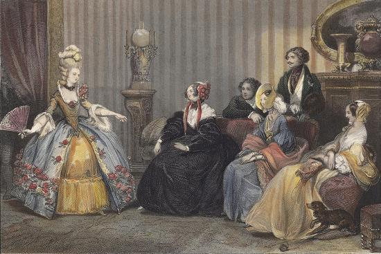 Arrangements for the Ball at the Opera-Eugene Roger-Giclee Print