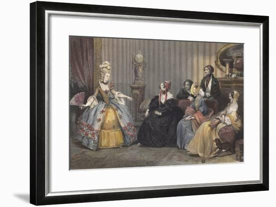 Arrangements for the Ball at the Opera-Eugene Roger-Framed Giclee Print