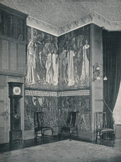 'Arras Tapestry at Stanmore Hall', 1898-9-Unknown-Photographic Print