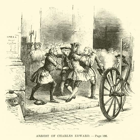 Arrest of Charles Edward--Giclee Print
