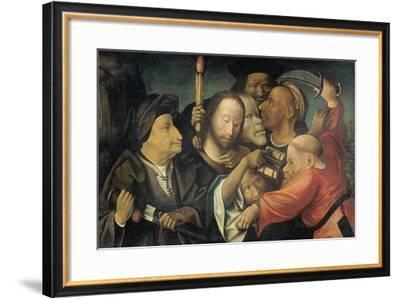 Arrest of Christ-Jheronimus Bosch-Framed Art Print