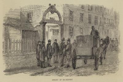 Arrest of Rochefort--Giclee Print