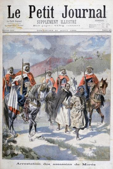 Arrest of the Assassins of Mores, Algeria, 1898-F Meaulle-Giclee Print