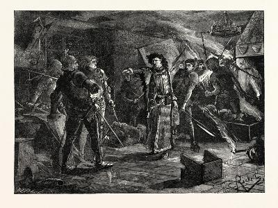 Arrest of the Conspirators at Cirencester--Giclee Print