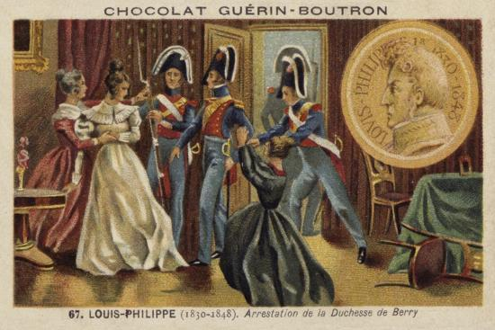 Arrest of the Duchess of Berry, 1832--Giclee Print