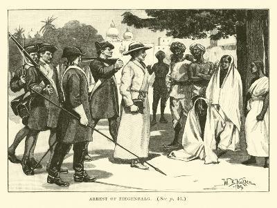 Arrest of Ziegenbalg--Giclee Print