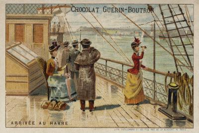 Arrival at Le Havre--Giclee Print