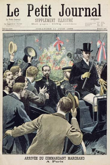 Arrival of Commander Marchand in Paris, Title Page from 'Le Petit Journal', 11 June 1899--Giclee Print