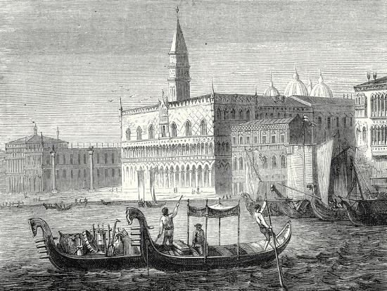 Arrival of Denis Papin in Venice--Giclee Print