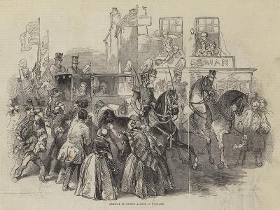 Arrival of Prince Albert in England--Giclee Print