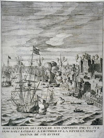 Arrival of Queen Henrietta Maria at the Tower of London, C1625--Giclee Print