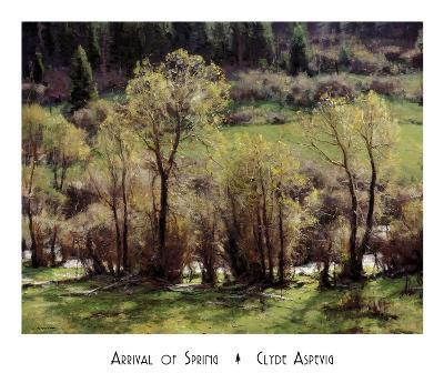 Arrival Of Spring-Clyde Aspevig-Art Print