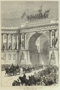 Arrival of the Emperor of Austria at St Petersburg