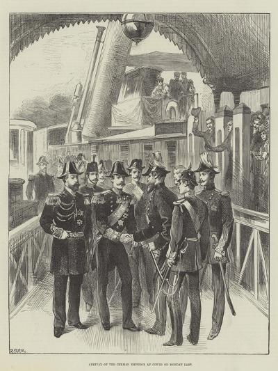 Arrival of the German Emperor at Cowes on Monday Last--Giclee Print