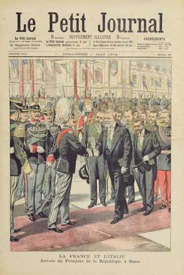 Arrival of the President of the French Republic--Giclee Print