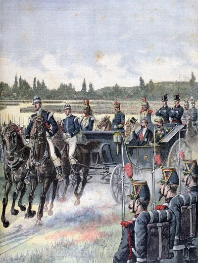 Arrival of the President of the Republic, Military Review, 14th July 1891-Henri Meyer-Giclee Print