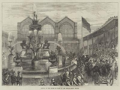 Arrival of the Prince of Wales at the Bethnal-Green Museum--Giclee Print