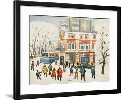 Arrivals, 1972-Radi Nedelchev-Framed Giclee Print