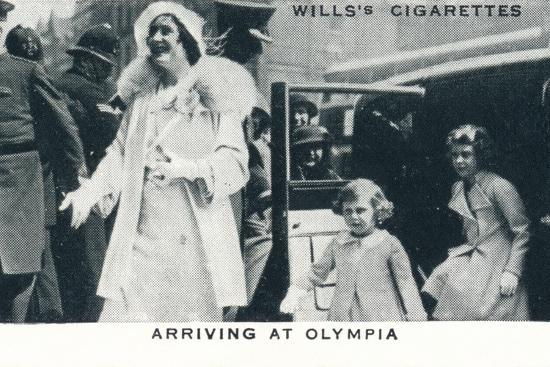 'Arriving at Olympia', 1935 (1937)-Unknown-Photographic Print