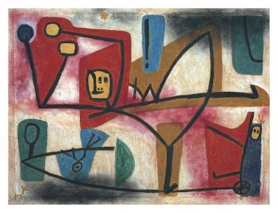 Arrogance-Paul Klee-Art Print