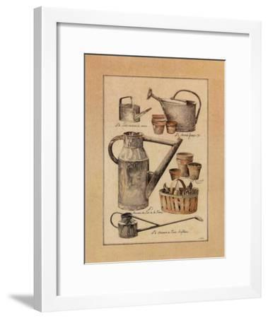 Arrosoirs-Laurence & Philippe David-Framed Art Print