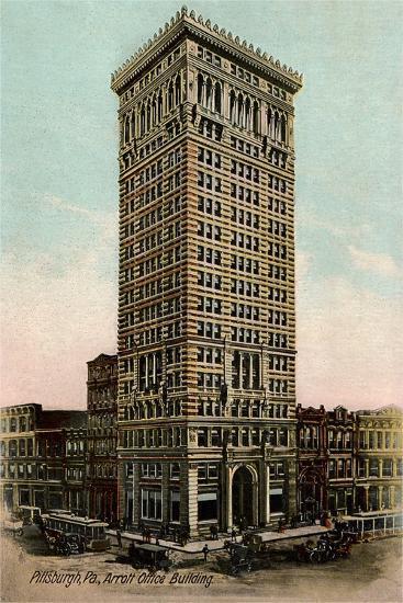Arrot Office Building, Pittsburgh--Art Print