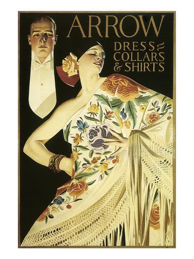 Arrow Dress Collars and Shirts-Joseph Christian Leyendecker-Art Print