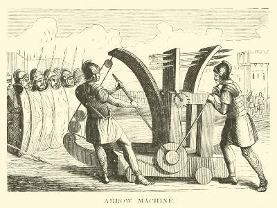 Arrow Machine--Giclee Print