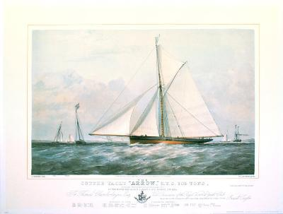 Arrow Yacht--Art Print