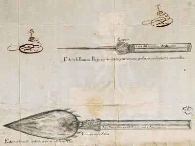 Arrows Used by Wayuu People, La Guajira Peninsula, Between Colombia and Venezuela, 1763--Giclee Print