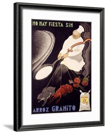 Arroz Granito--Framed Giclee Print