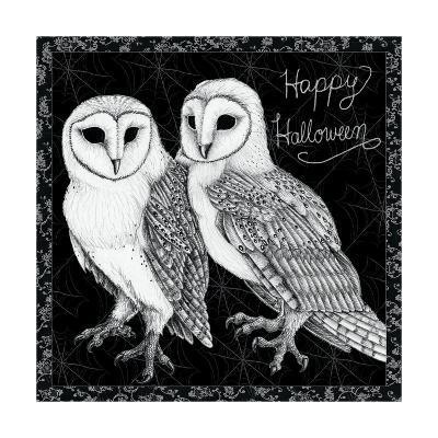 Arsenic and Old Lace Happy Halloween-Elyse DeNeige-Art Print