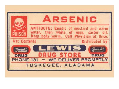 Arsenic--Art Print