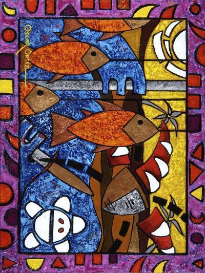 Art 3-Oscar Ortiz-Giclee Print