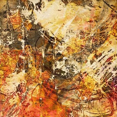 Art Abstract Grunge Graphic Background. To See Similar, Please Visit My Portfolio-Irina QQQ-Art Print