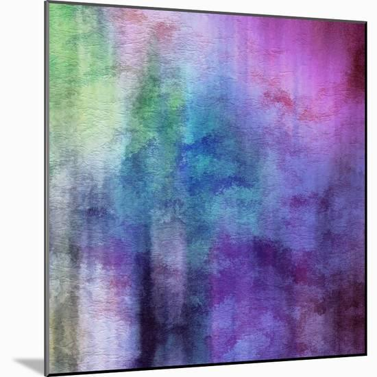 Art Abstract Watercolor Background On Paper Texture In Light Violet And Pink Colors-Irina QQQ-Mounted Premium Giclee Print