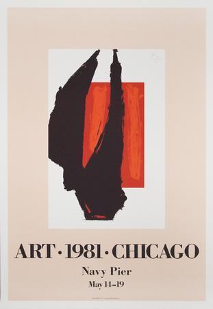 Art Chicago-Robert Motherwell-Art Print