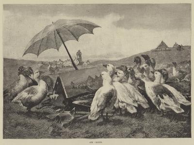 Art Critics--Giclee Print