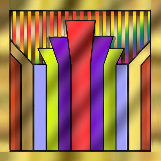 Art Deco 16A-Art Deco Designs-Giclee Print