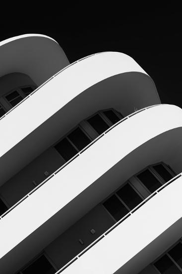 Art Deco Architecture of Miami Beach - South Beach - Florida-Philippe Hugonnard-Photographic Print