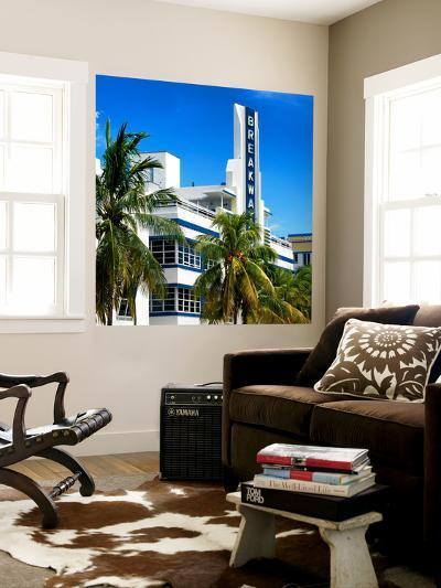 Art Deco Architecture of Miami Beach - The Esplendor Hotel Breakwater South Beach - Ocean Drive-Philippe Hugonnard-Wall Mural