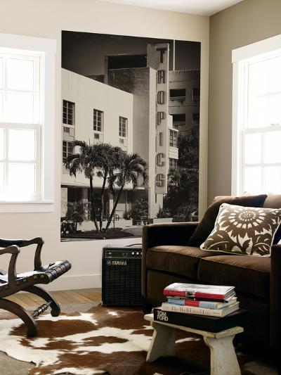 Art Deco Architecture of Miami Beach - The Tropics Hotel - Florida-Philippe Hugonnard-Wall Mural