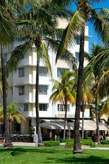 Art Deco Architecture of Ocean Drive - Miami Beach - Florida-Philippe Hugonnard-Photographic Print