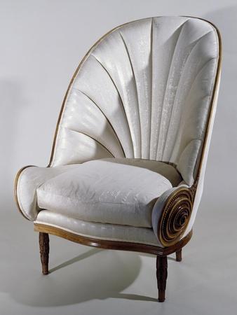 Art Deco Armchair, Ca 1913 Paul Iribe Giclee Print