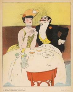 Art Deco Couple Fine Dining