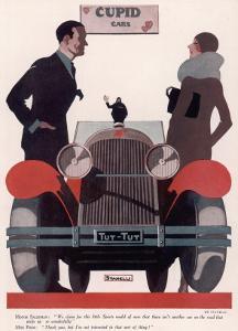 Art Deco Cupid Cars